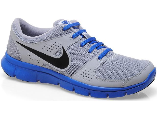 Tênis Masculino Nike 525762-009 Flex Experience rn Cinza/royal