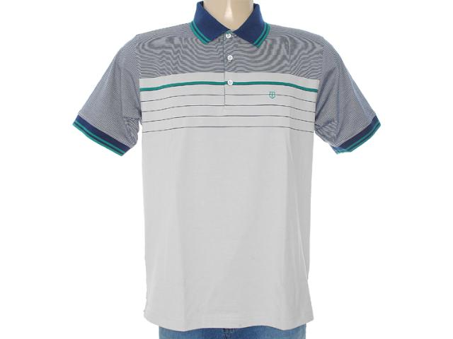 Camisa Masculina Individual 306.00298.001 Cinza
