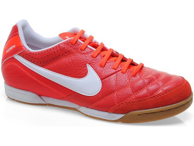 Tênis Masculino Nike 509090-619 Tiempo Natural iv Ltr ic Vermelho/branco