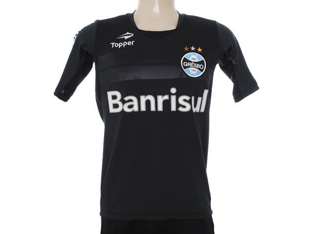 Camisa Masculina Grêmio C1080m Preto