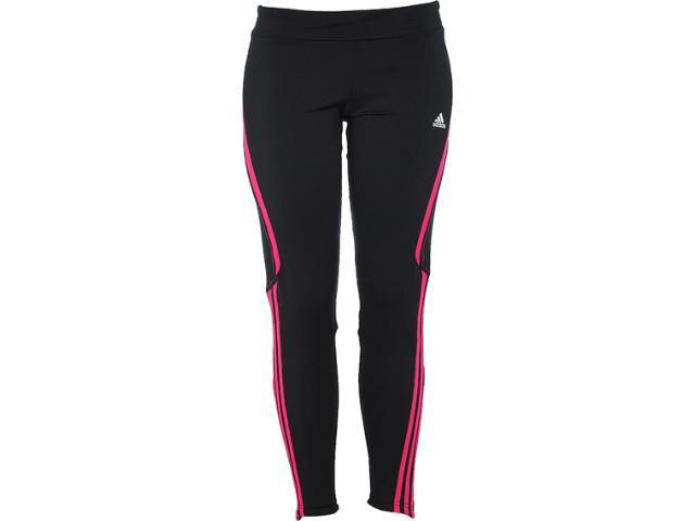 Calça Feminina Adidas W51562 Preto/pink