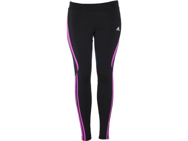 Calça Feminina Adidas Z26963 Rsp l ti w Preto/violeta