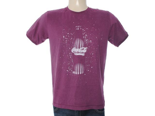 Camiseta Masculina Coca-cola Clothing 353203314 Beringela