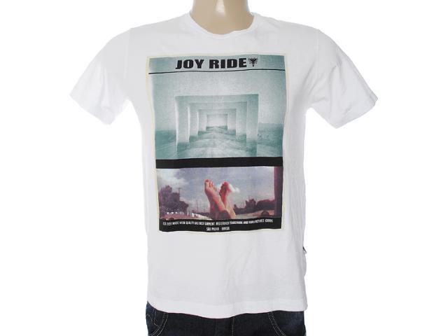 Camiseta Masculina Cavalera Clothing 01.01.7025 Branco