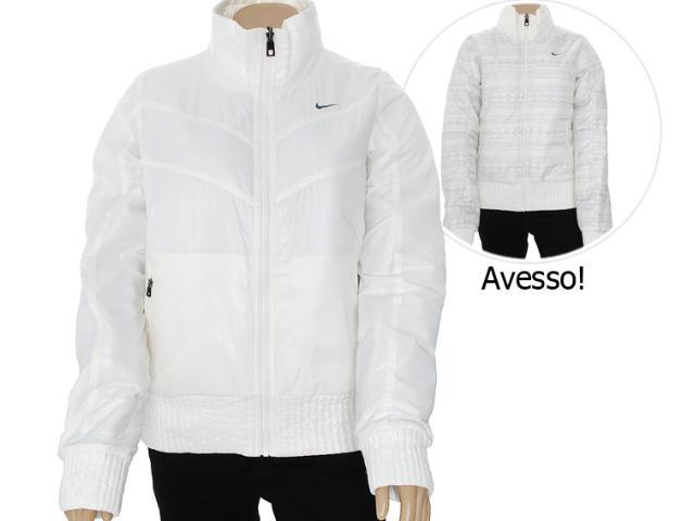 Jaqueta Feminina Nike 506082-130 Printed Conversion  Off White