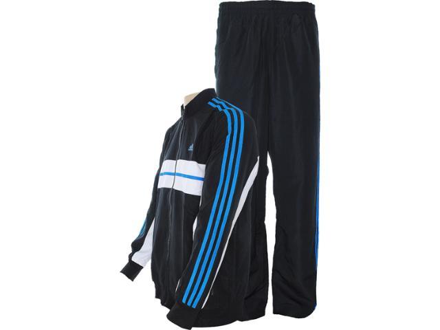Abrigo Masculino Adidas Z30835 ts Anthem  Preto/azul