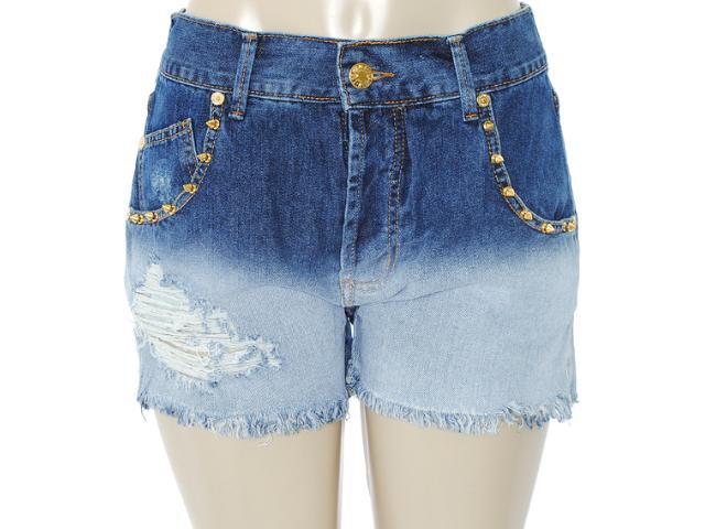 Bermuda Feminina Coca-cola Clothing 43200285 Jeans