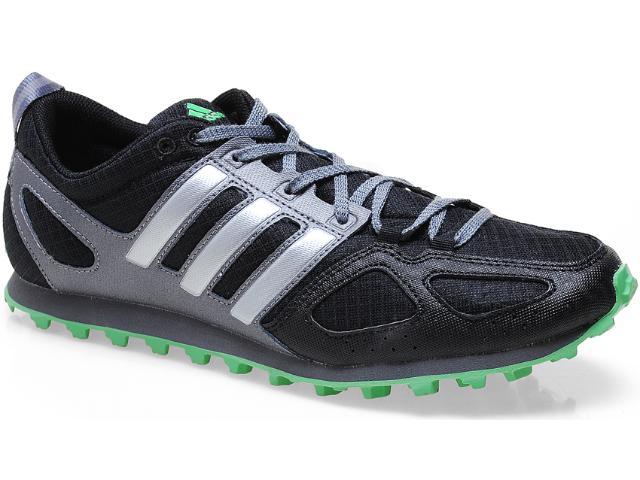 Tênis Masculino Adidas Q22228 xc tr m Preto/prata/verde