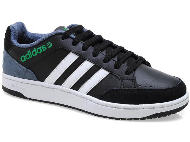 Tênis Masculino Adidas X73823 Vlneo Hoops l Preto/branco