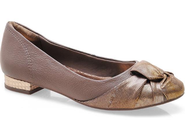 Sapato Feminino Ramarim 13-87101 Amendoa/rose