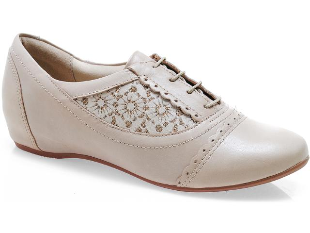 Sapato Feminino Campesi 3362 Avelã