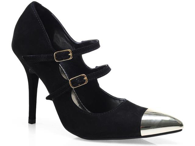 Sapato Feminino Via Marte 13-5906 Preto