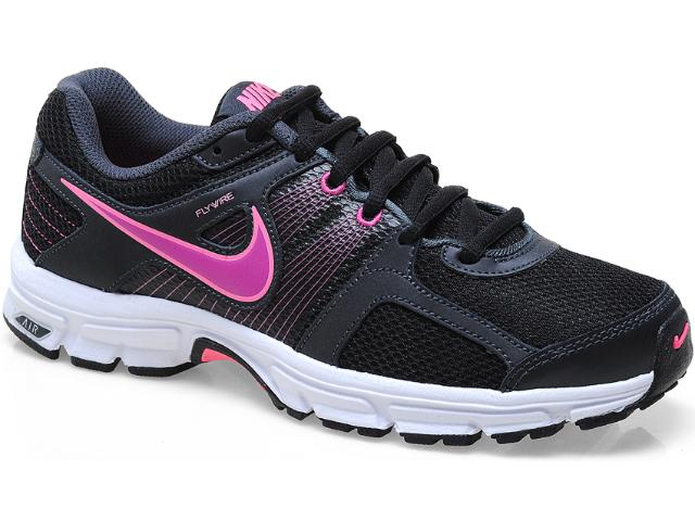 Tênis Feminino Nike 537609-009 Air Retaliate Preto/pink