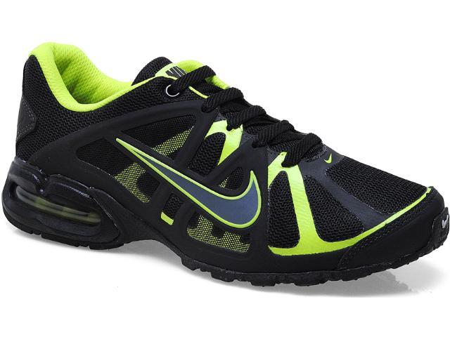Tênis Masculino Nike 580429-002 Air Max Lte 3 Preto/limão