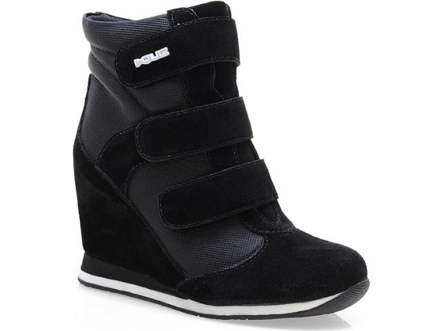 Sneaker Feminino Quiz 61904 Preto
