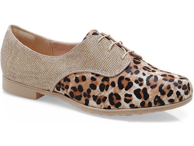 Sapato Feminino Dakota 5273 Bege/ouro
