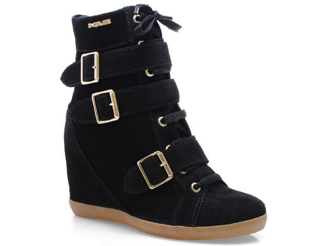Sneaker Feminino Quiz 69928 Preto