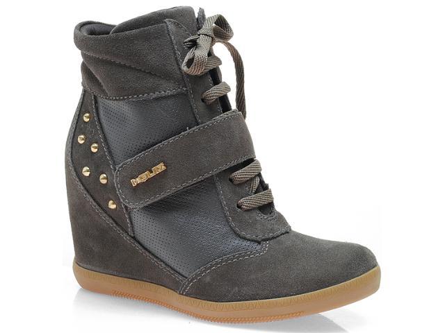Sneaker Feminino Quiz 69929 Chumbo