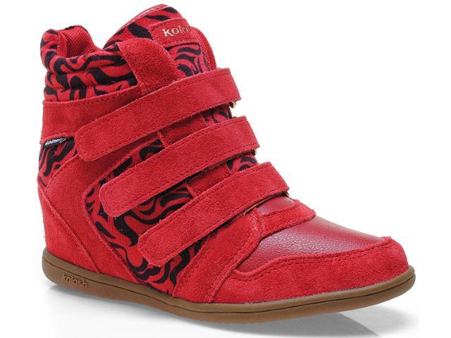 Sneaker Feminino Kolosh C0096 Vermelho