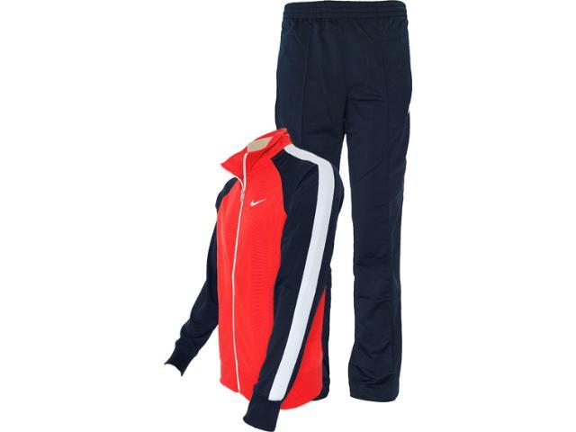 Abrigo Masculino Nike 449939-605 Polywarp Warm up Vermelho/marinho/branco