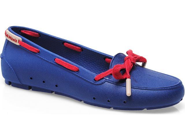 Sapato Feminino Soft Mania 911 Marinho/vermelho