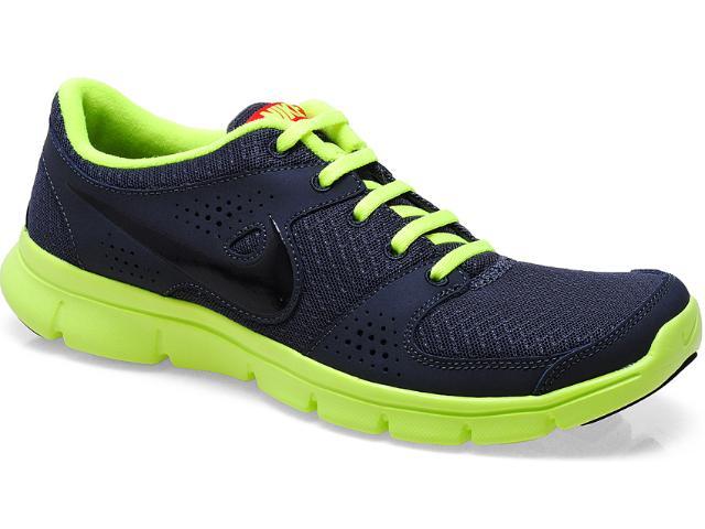 Tênis Masculino Nike 525762-012 Flex Experience rn Chumbo/limão