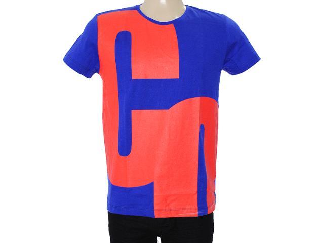 Camiseta Masculina Coca-cola Clothing 353203528 Royal/vermelho
