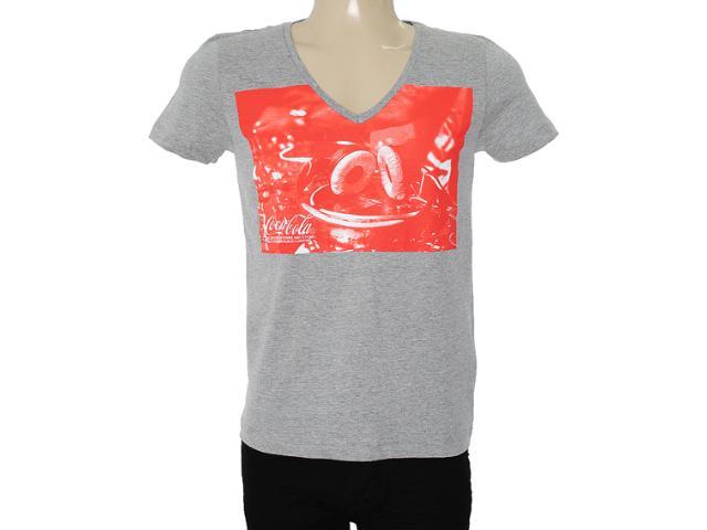 Camiseta Masculina Coca-cola Clothing 353203434 Mescla