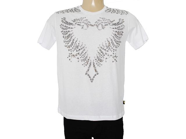 Camiseta Masculina Cavalera Clothing 01.01.7156 Branco