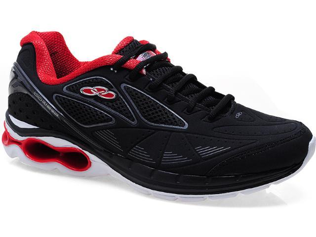 Tênis Masculino Olympikus Cromme 900 Preto/vermelho