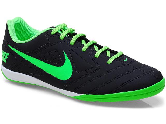 Tênis Masculino Nike 502776-005 Beco Emb Preto/limão
