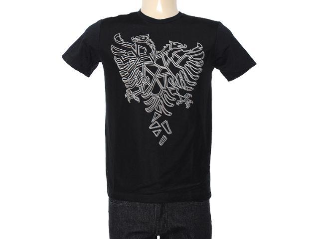 Camiseta Masculina Cavalera Clothing 01.01.7193 Preto