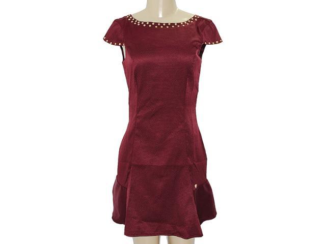Vestido Feminino Dopping 018003037 Bordo