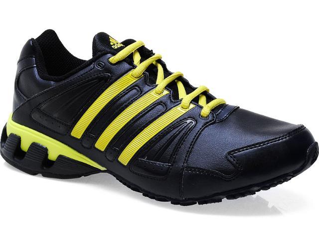 Tênis Masculino Adidas G57202 100 Flow Preto/amarelo