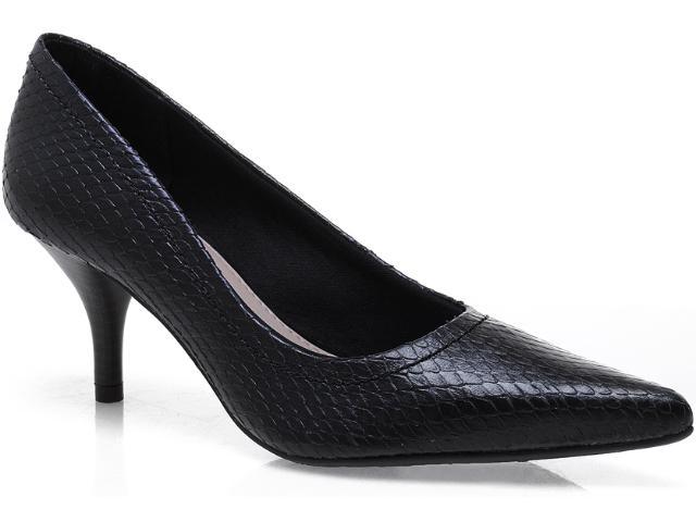 Sapato Feminino Via Marte 12-7610 Preto