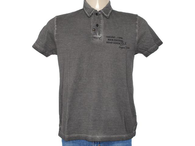Camisa Masculina Index 19.08.000037 Chumbo