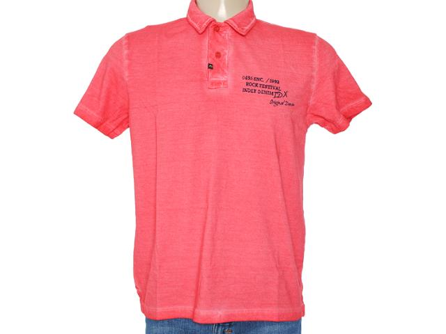 Camisa Masculina Index 19.08.000037 Vermelho