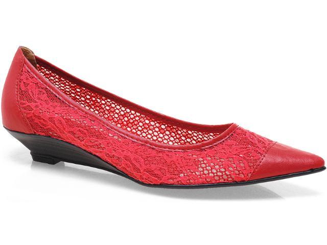 Sapato Feminino Bruna Brenner 1900 Vermelho
