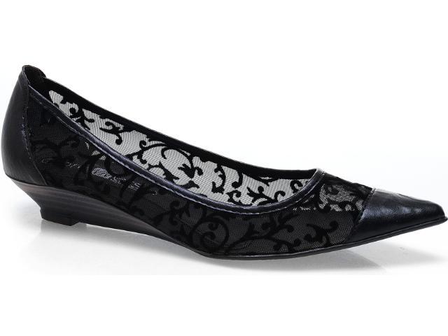 Sapato Feminino Bruna Brenner 1900 Preto