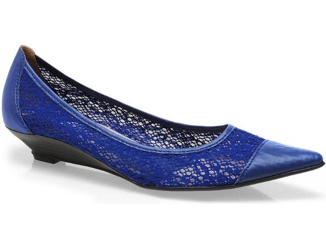 Sapato Feminino Bruna Brenner 1900 Azul