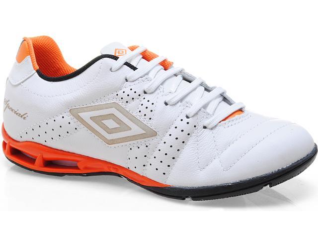 Tênis Masculino Umbro 10143 Speciali 3 lt Branco/laranja