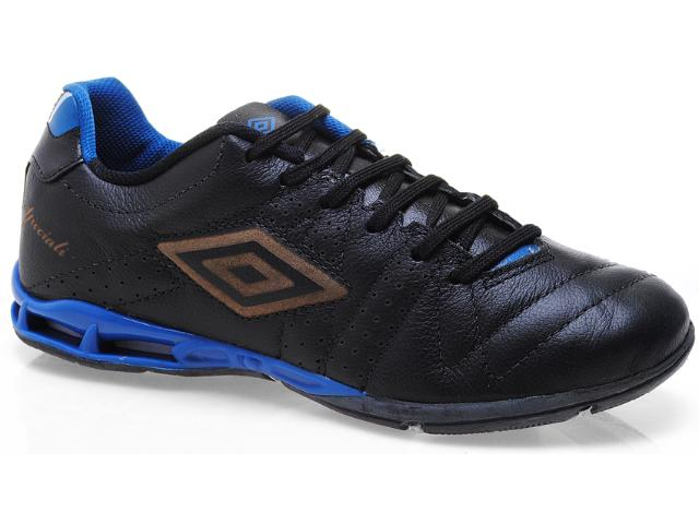 Tênis Masculino Umbro 10143 Speciali 3 lt Preto/azul