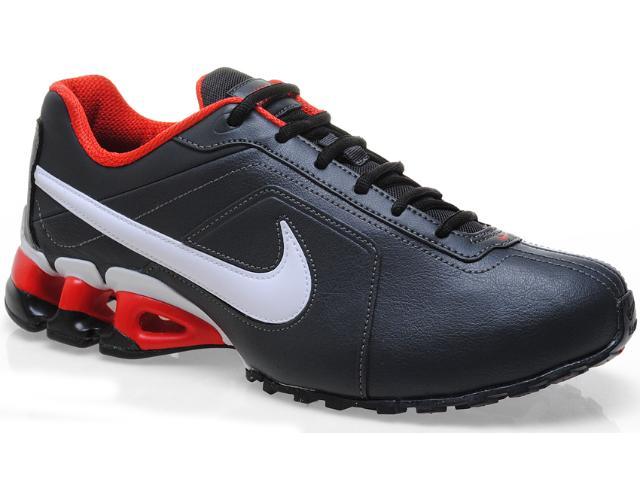 Tênis Masculino Nike 512768-007 Impax Emirro ii sl Preto/branco/vermelho