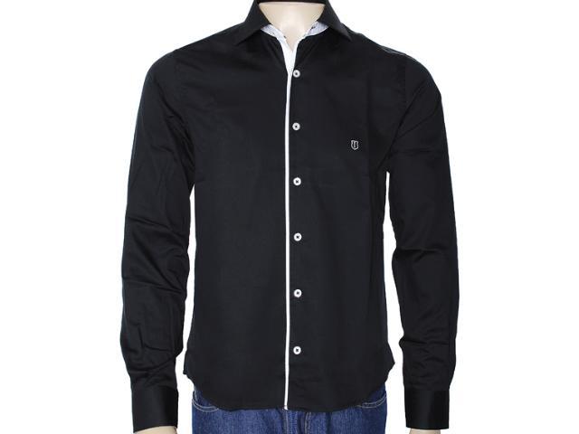 Camisa Masculina Individual 302.00932.002 Preto