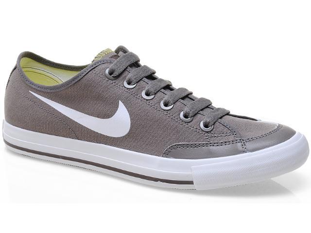 Tênis Masculino Nike 474141-202 go Low Cnvs br Cinza/branco