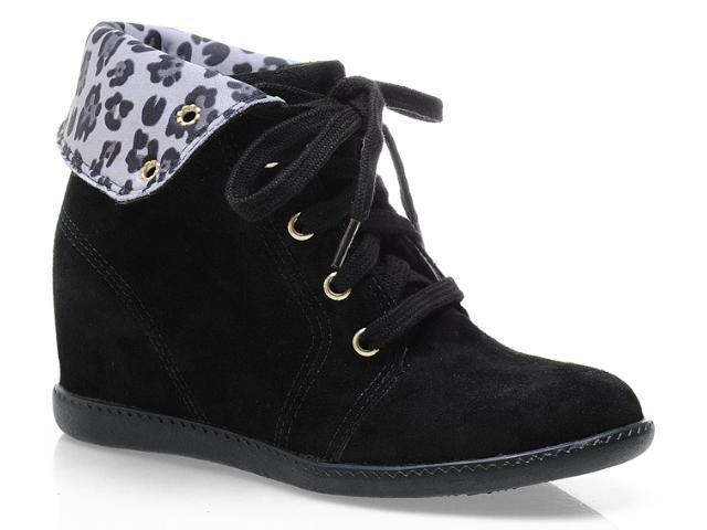 Sneaker Feminino Anna Brenner 3003 Preto