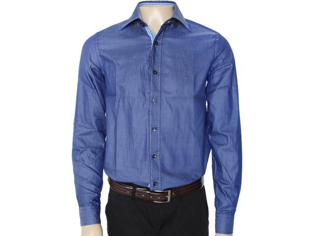 Camisa Masculina Individual 302.00979.002 Azul