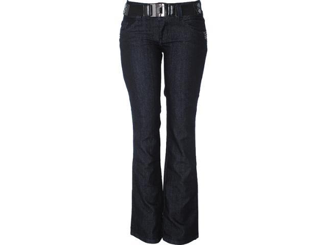 Calça Feminina Lado Avesso 82301 Jeans Escuro
