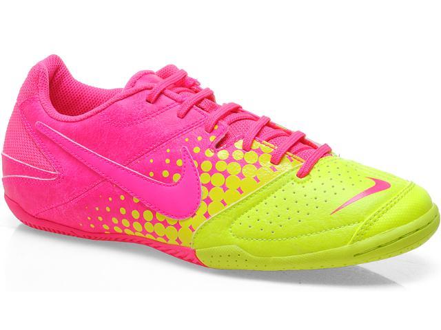 Tênis Masculino Nike 415131-667 Elastico Pink/amarelo