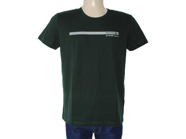 Camiseta Masculina Coca-cola Clothing 353203382 Verde